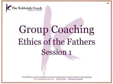 Group Coaching Week 1
