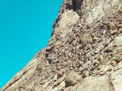 sinai rock mountain